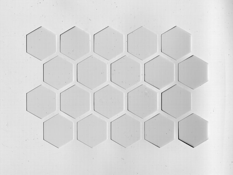Hexagonschablonen